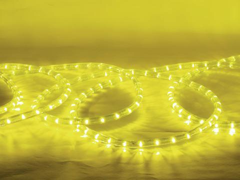 LED Lysslange 44 meter Gul