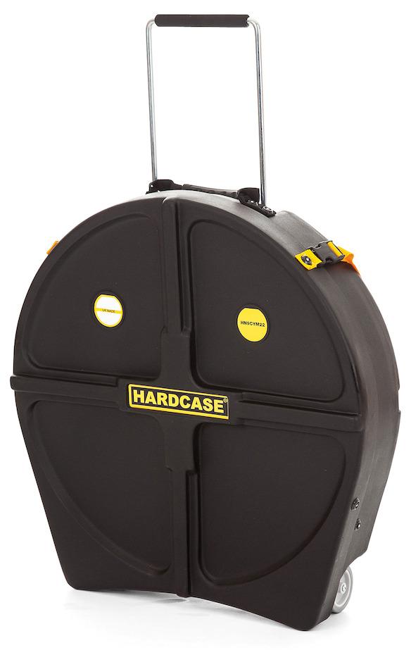"""Hardcase 22"""" HN9CYM22 Bækkencase Sort"""