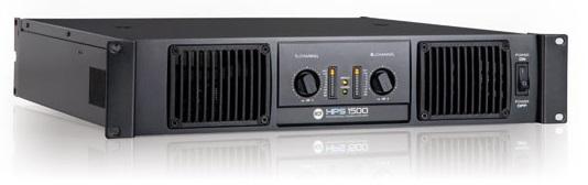 RCF HPS 1500 Forstærker (2 x 450 Watt 8 Ohm)