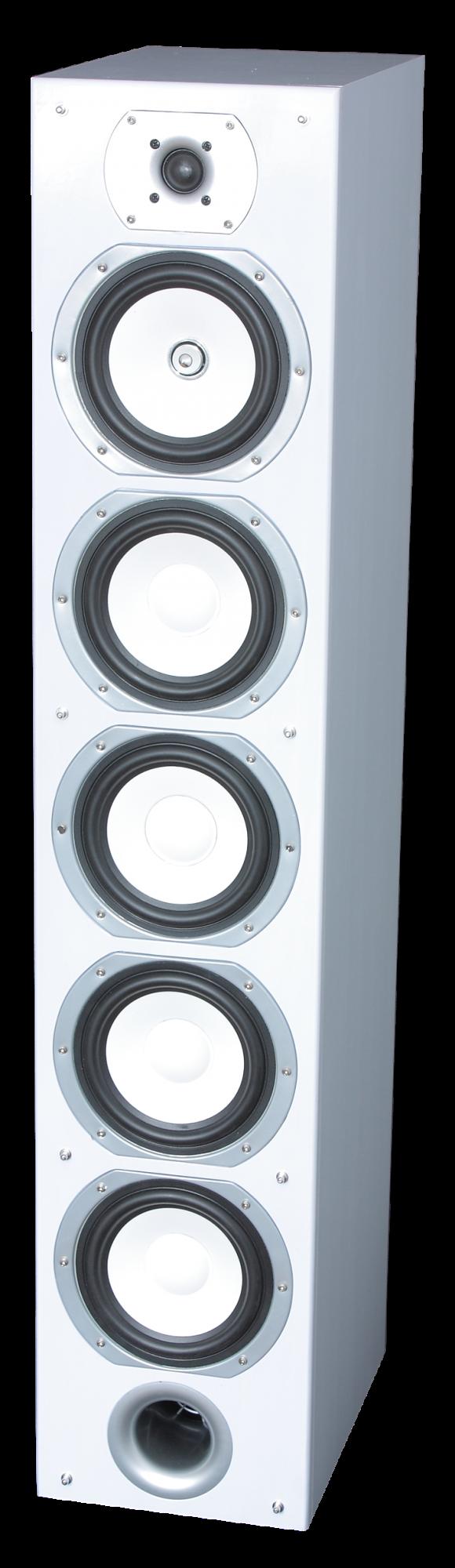 Image of   HiFi 4-vejs højttalersæt, 440W Hvid