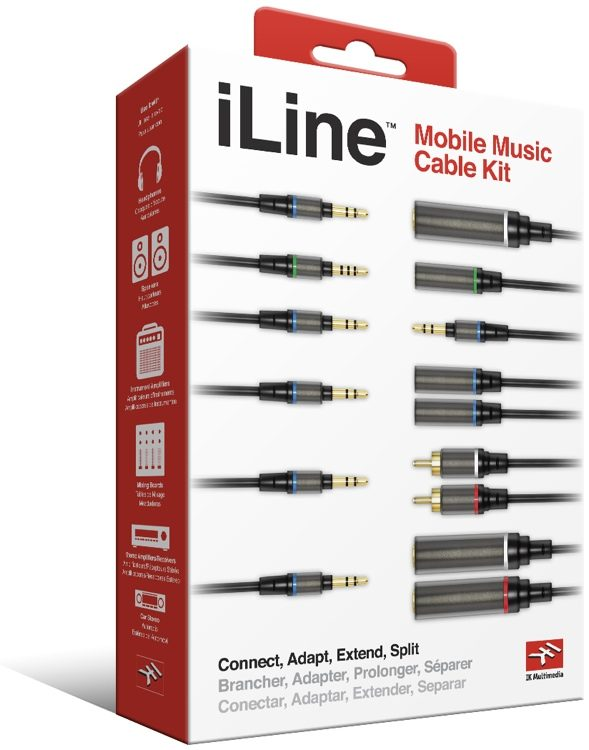 IK Multimedia iLine | Mobile Music cable kit