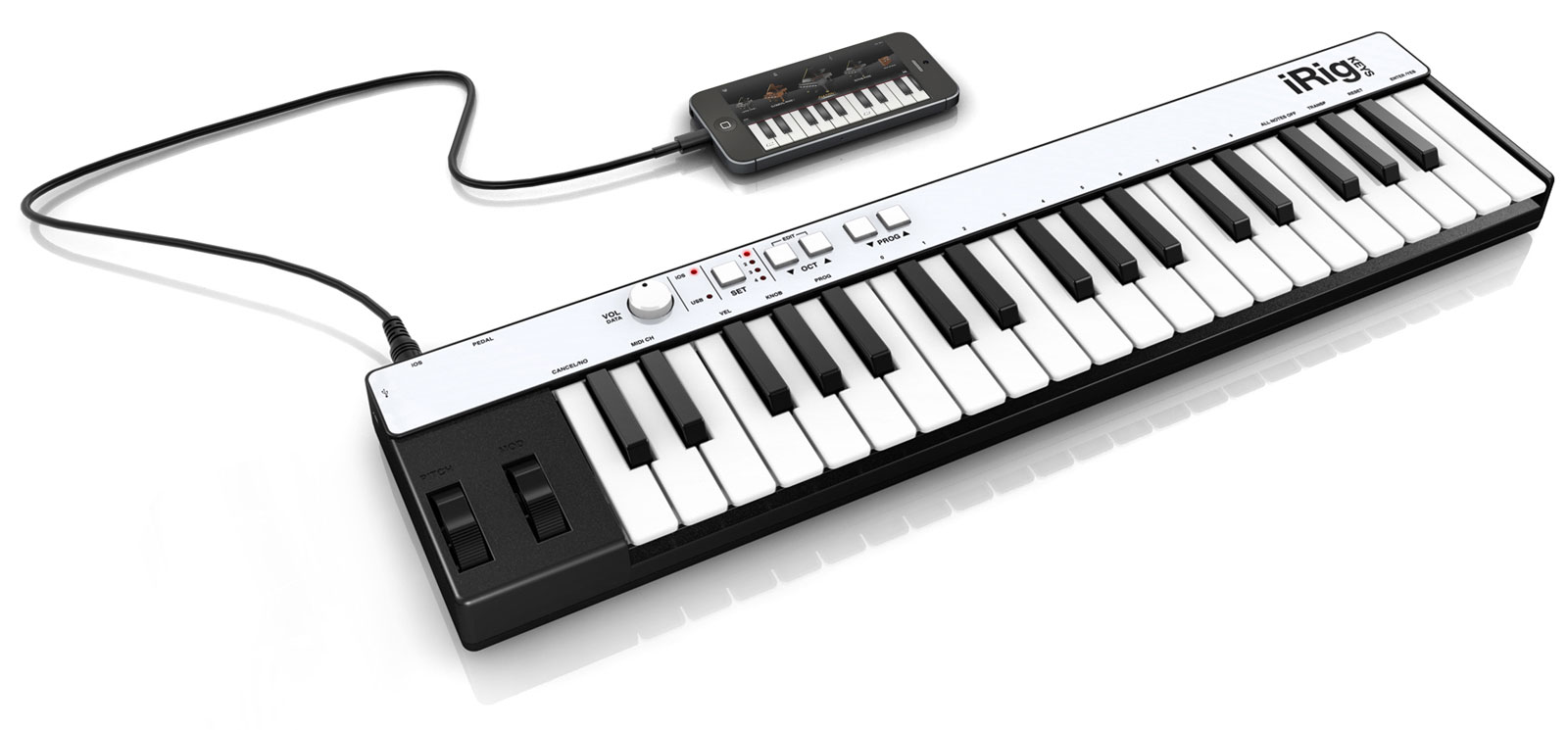 Image of   IK Multimedia iRig KEYS with Lightning