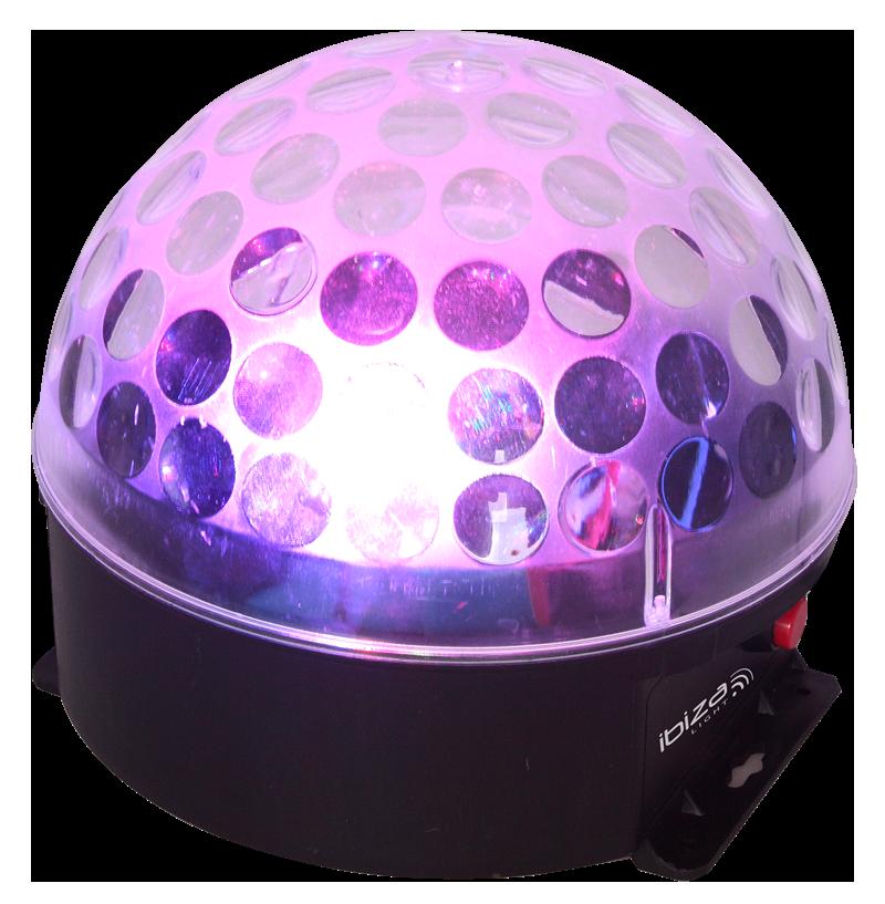 Ibiza Astro-Bat RGBA LED lyseffekt