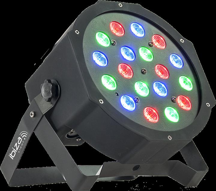 Image of   Ibiza LED PAR lampe, DMX styret
