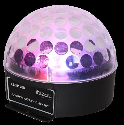 Ibiza RGB Astro lyseffekt