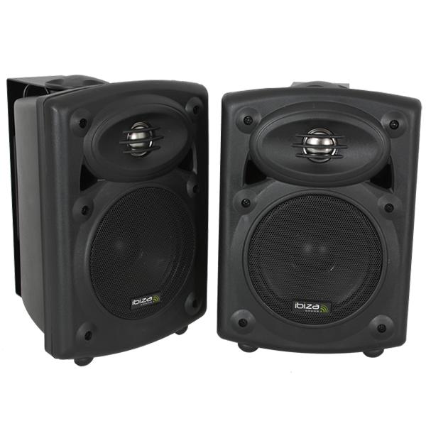 Image of   Ibiza Sound aktiv højttalersæt med bluetooth, 80W