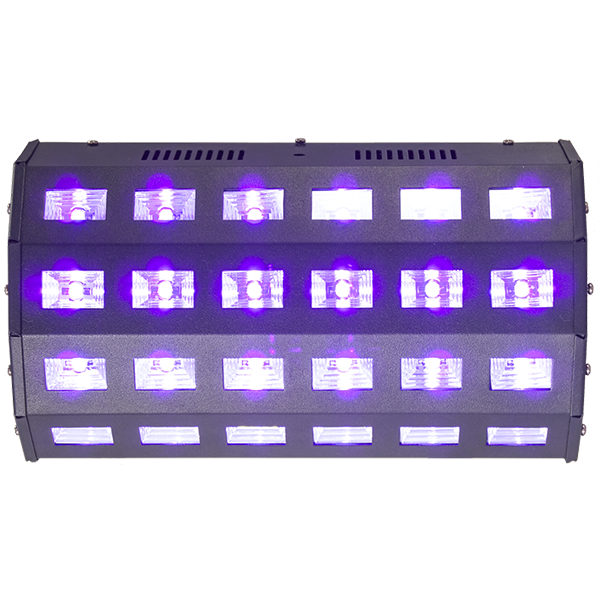 Image of   Ibiza UV LED 24 x 3 Watt