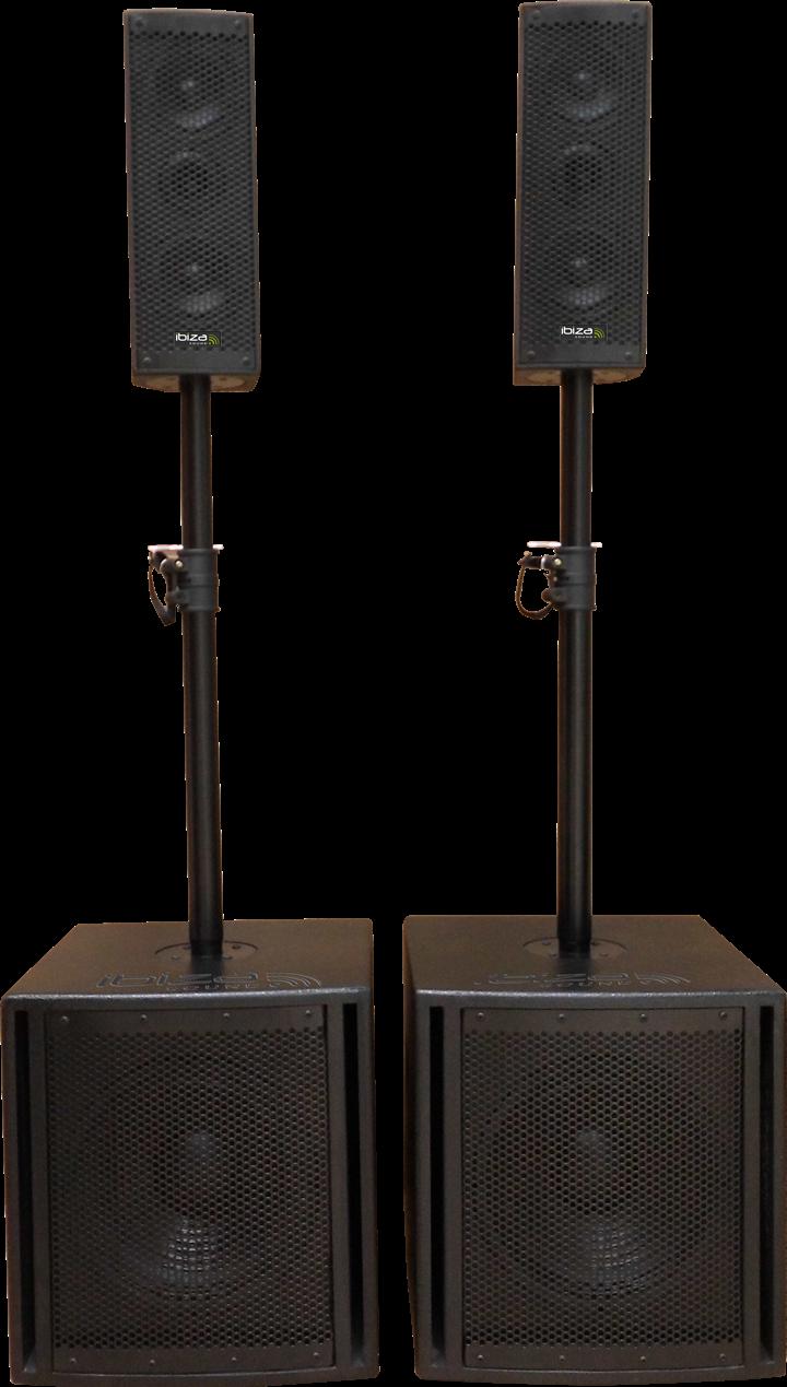 Image of   Ibiza aktiv lydsystem 2.2, 1200W
