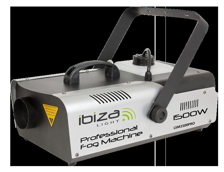 Image of   Ibiza røgmaskine, 1500 watt + DMX