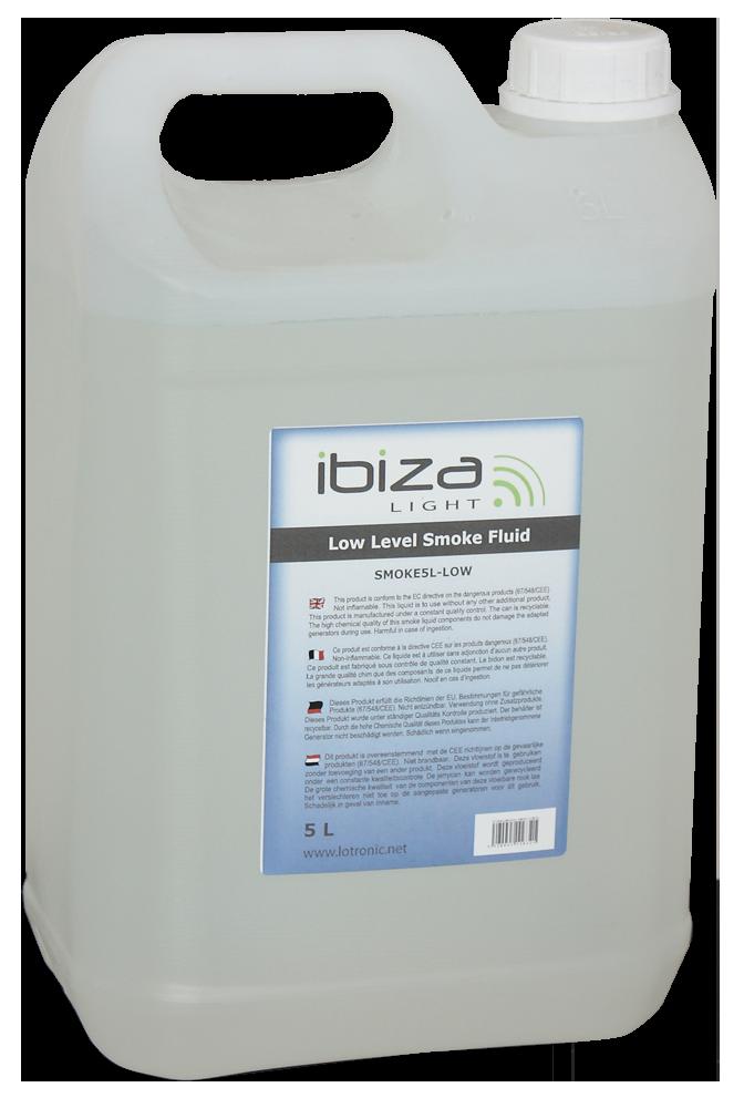 Billede af Ibiza røgvæske, 5 ltr. Low Fog
