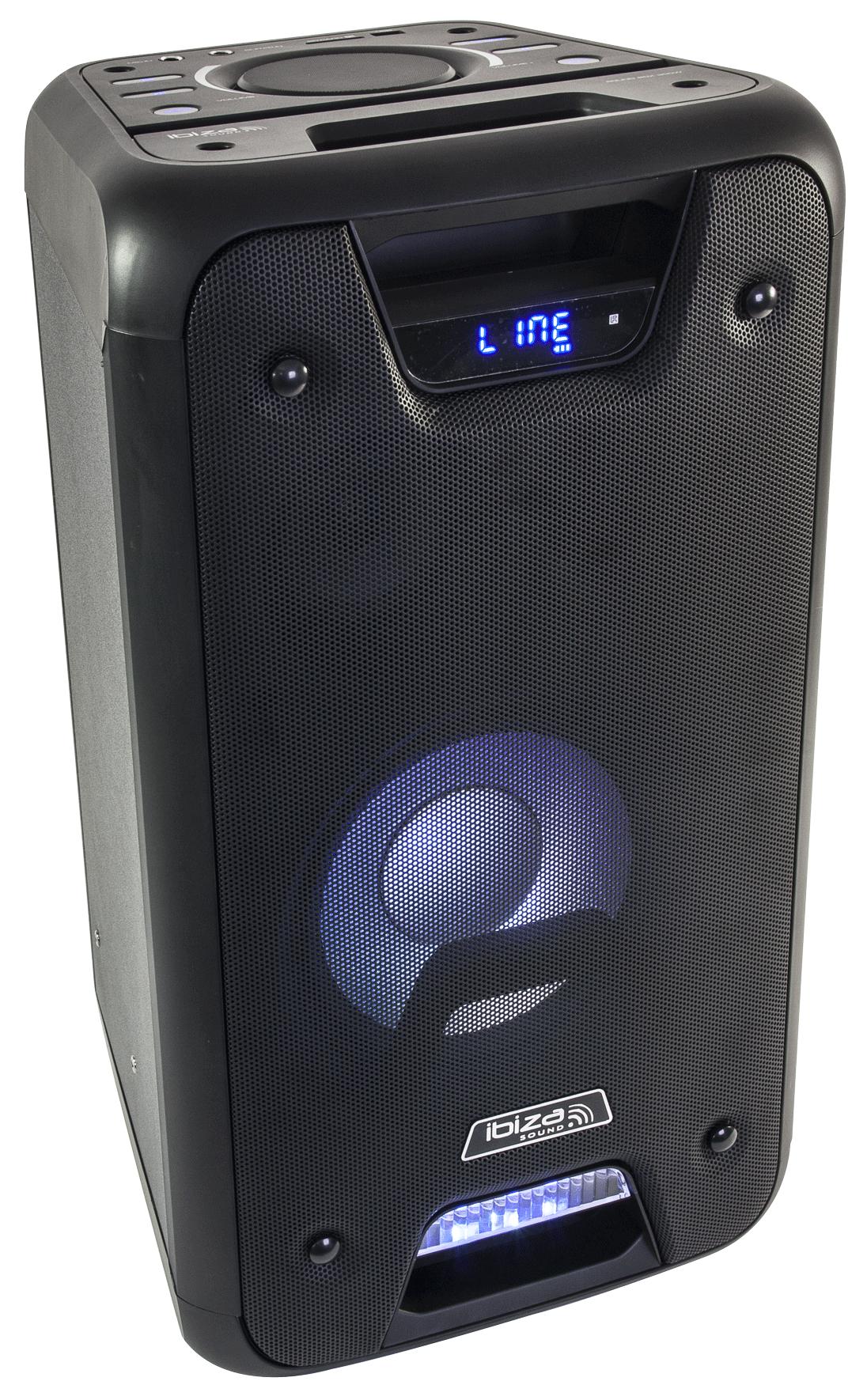 Billede af Ibiza stand-alone transportabel lydsystem, 300W