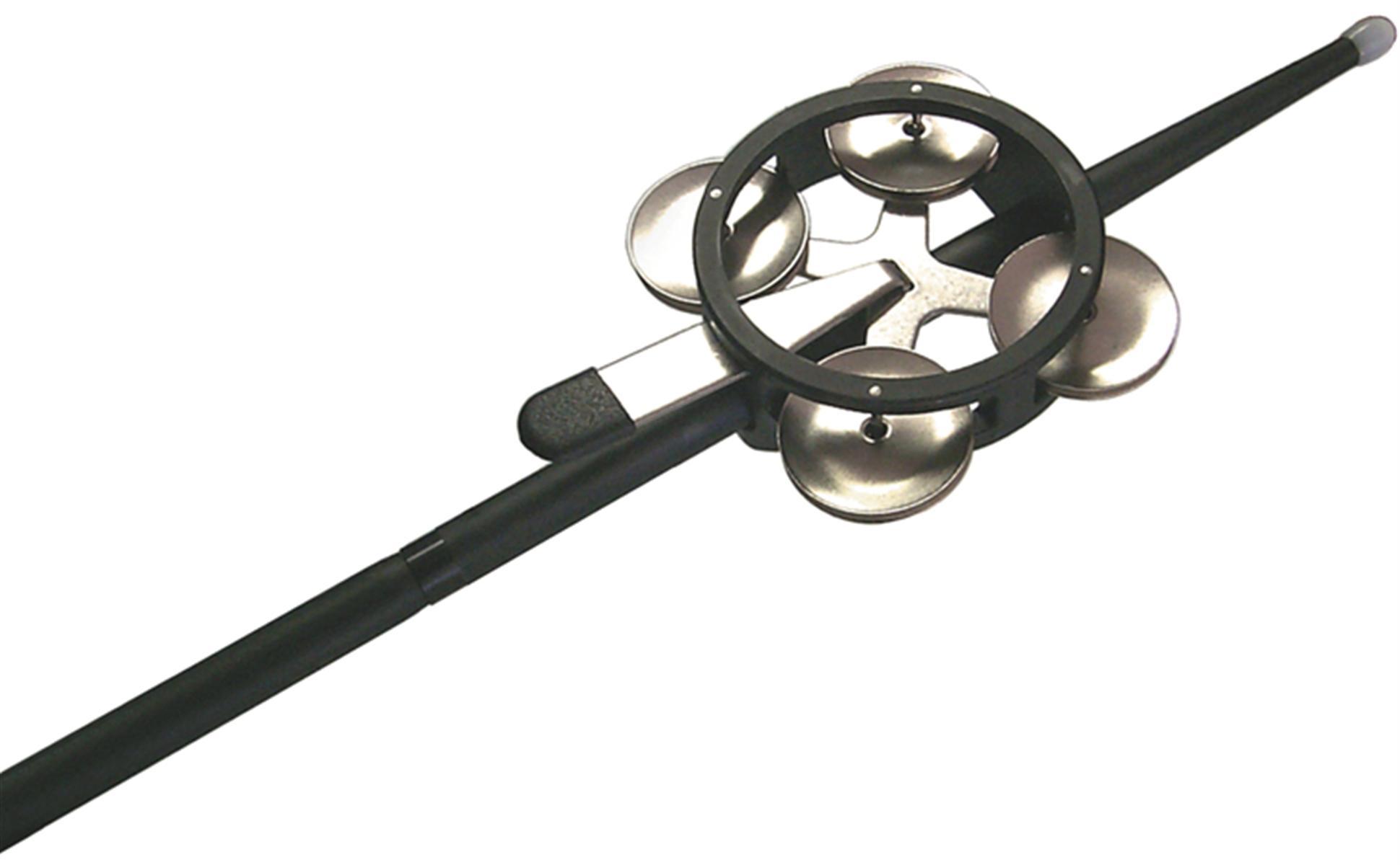 Image of   Jingle Mute - Tamburin til trommestikkere