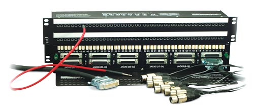 Image of   Krydsfelt 2x48 wired med 12 x DB25