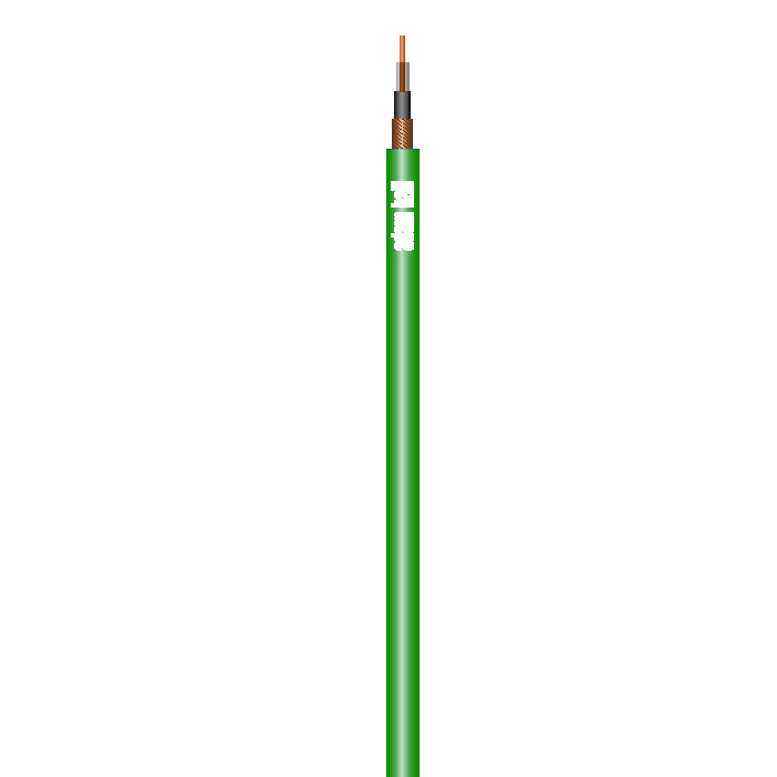 Instrument Kabel 1 x 0,22 mm² Grøn