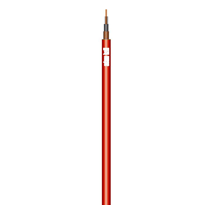 Instrument Kabel 1 x 0,22 mm² Rød