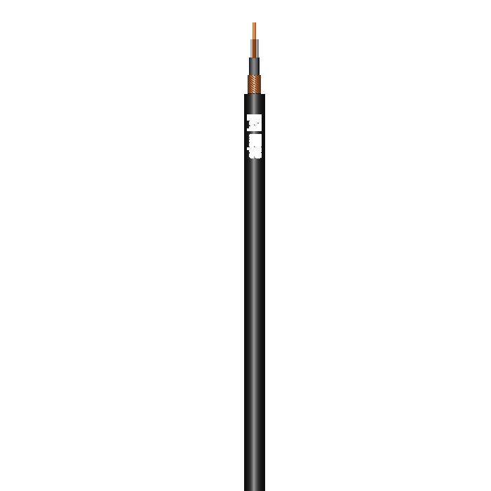 Instrument Kabel 1 x 0,22 mm² Sort