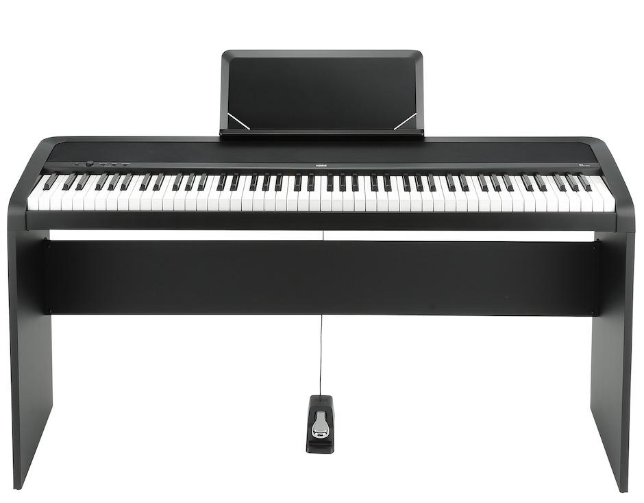 Korg B1 elklaver med stativ og pedal