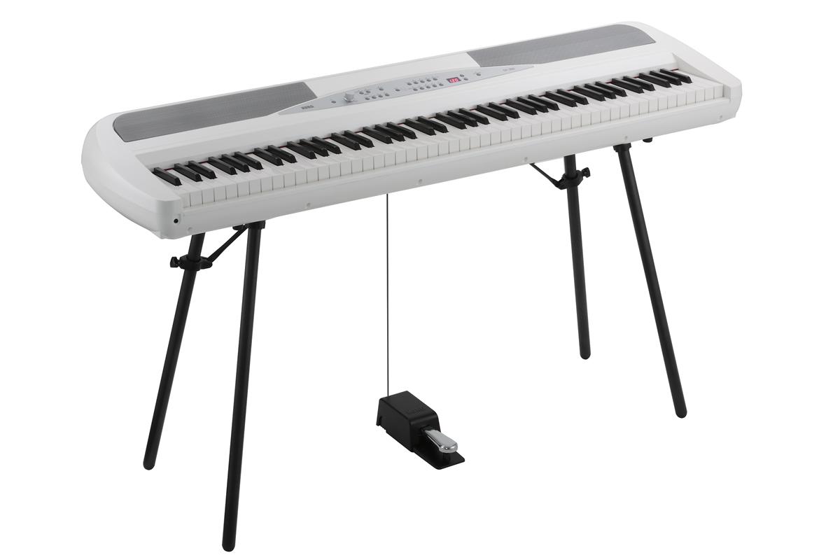 Korg SP-280 Elektrisk klaver Hvid