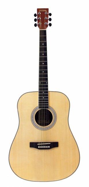 Santana LA90 Western Guitar - Natur