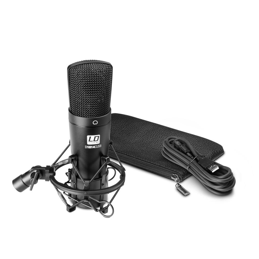 Image of   LD Systems D 1014 C USB Kondensator Studie Mikrofon
