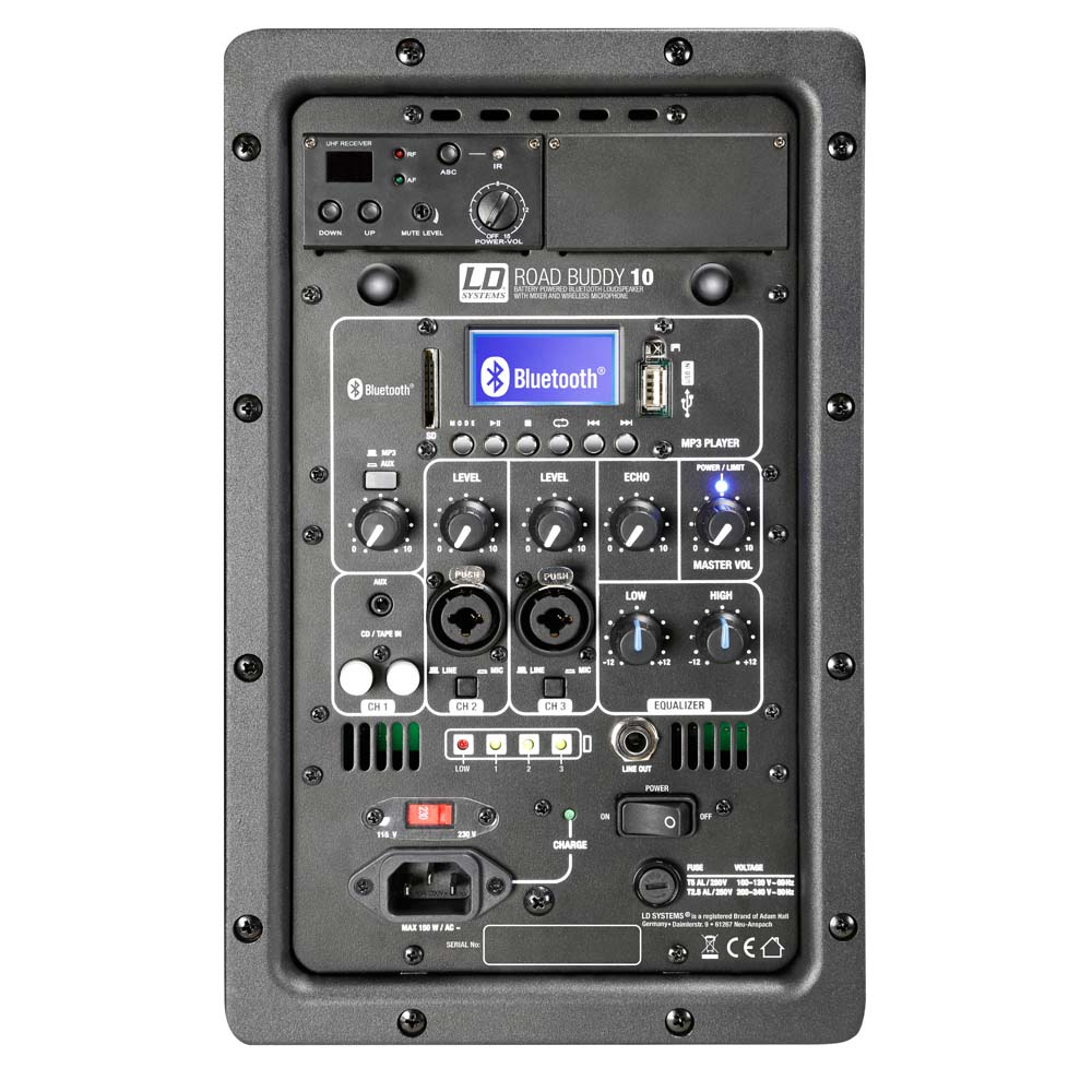 LD Systems Road Buddy 10 Festival høyttalere SoundStoreXL.no