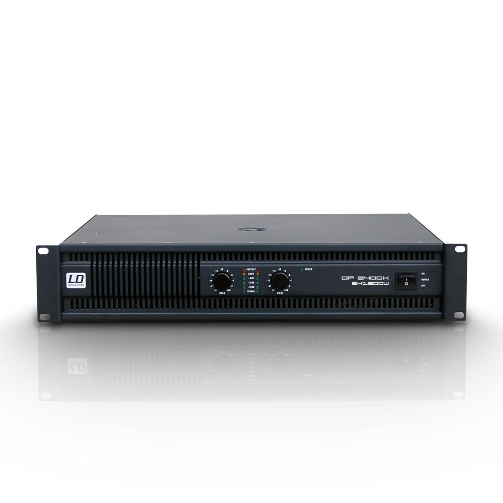 LD Systems DEEP2 2400 X Forstærker 2x600W 8 Ohm