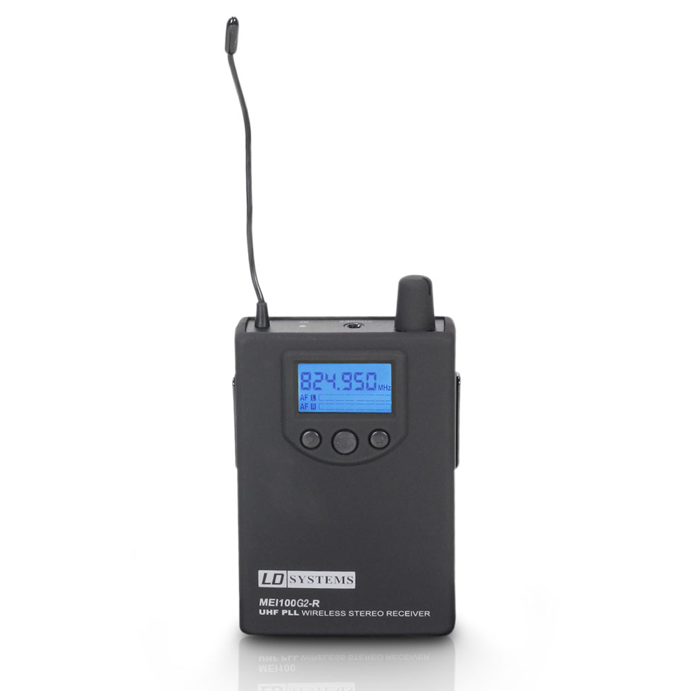 Image of   LD Systems Modtager til MEI 100 G2 In-Ear Monitor