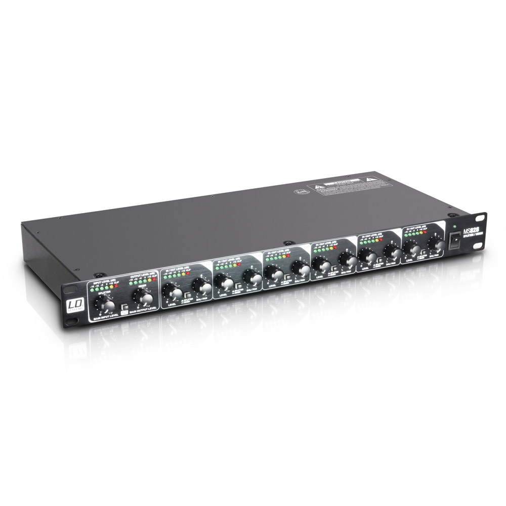Image of   LD Systems MS 828 Line Mixer / Splitter