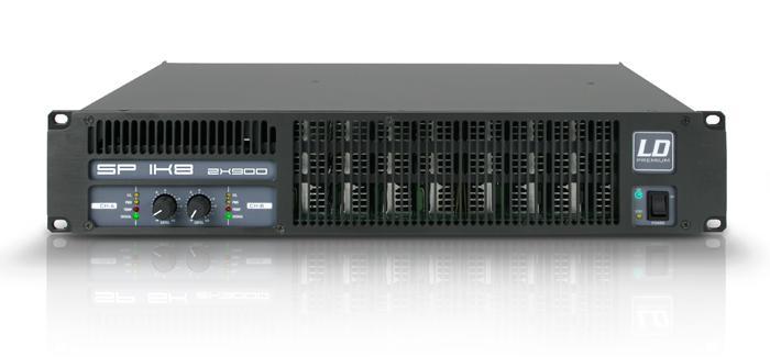 Image of   LD Systems SP 1K8 Forstærker 2 x 325W 8 Ohm