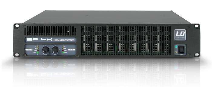 Image of   LD Systems SP 4K Forstærker 2x810W 8 Ohm