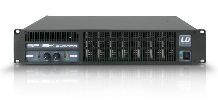 Image of   LD Systems SP 6K Forstærker 2x1250W 8 Ohm
