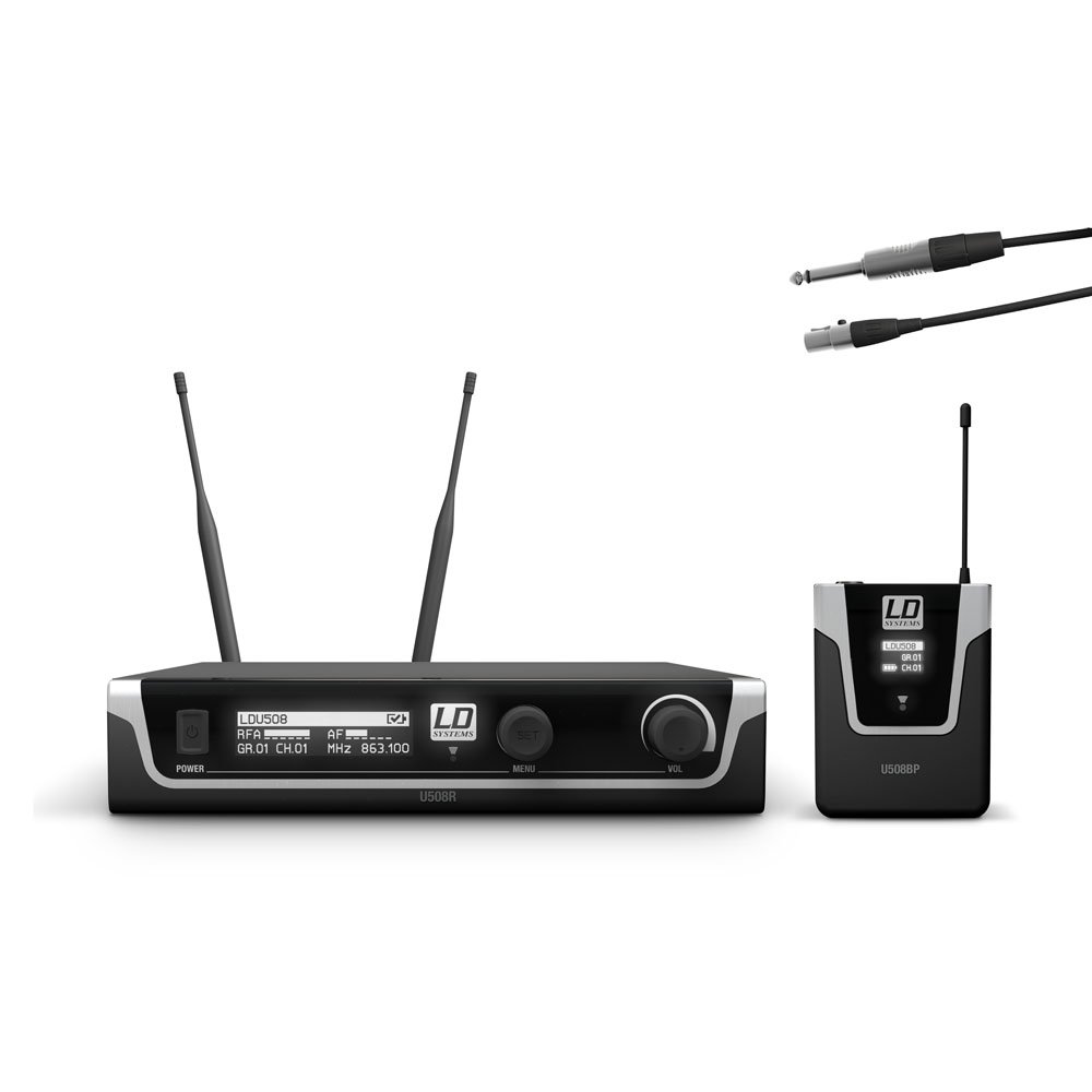 Image of   LD Systems U508 BPG - Trådløs mikrofon System