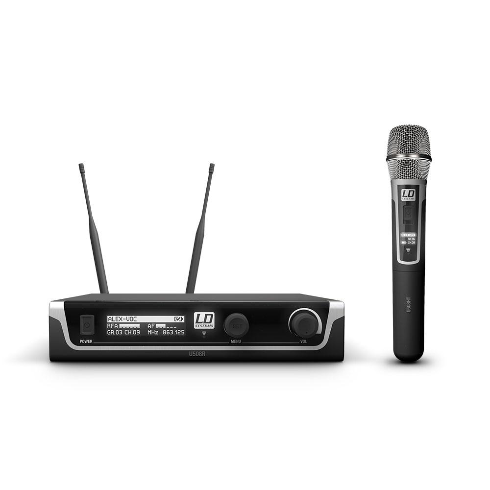 LD Systems U508 HHC - Trådløs mikrofonsystem med håndholdt kondensatormikrofon
