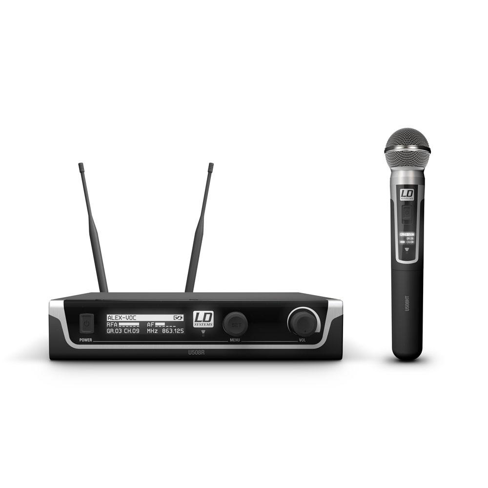 LD Systems U508 HHD - Trådløs mikrofonsystem med dynamisk håndholdt mikrofon