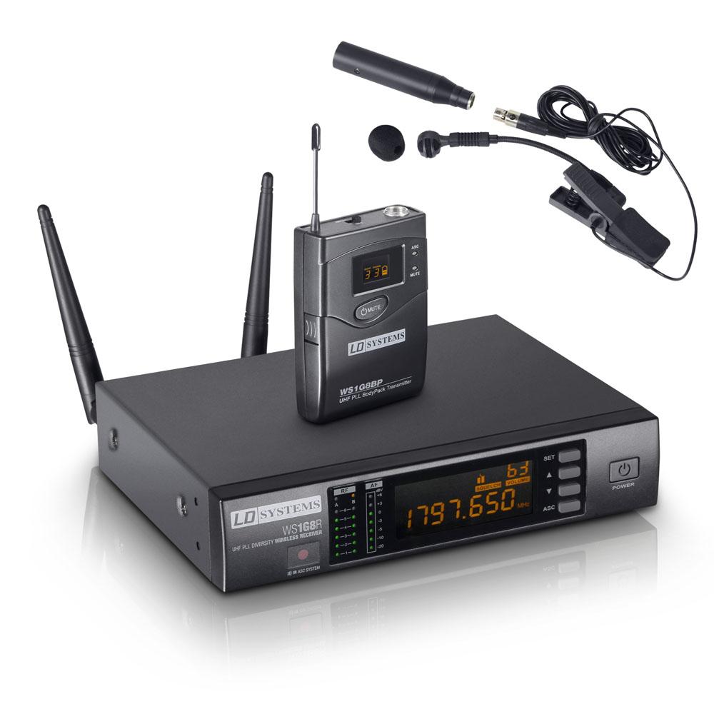 LD Systems WS 1G8 BPW Trådløs mikrofon til blæserinstrument