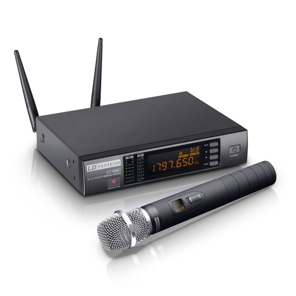 Image of   LD Systems WS 1G8 HHC Trådløs kondensatormikrofon