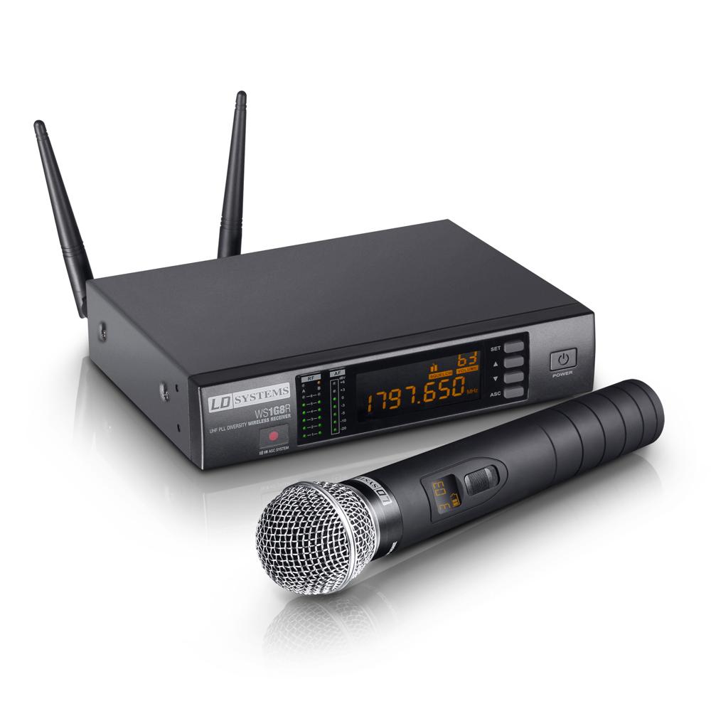 Image of   LD Systems WS 1G8 HHD Trådløs mikrofon