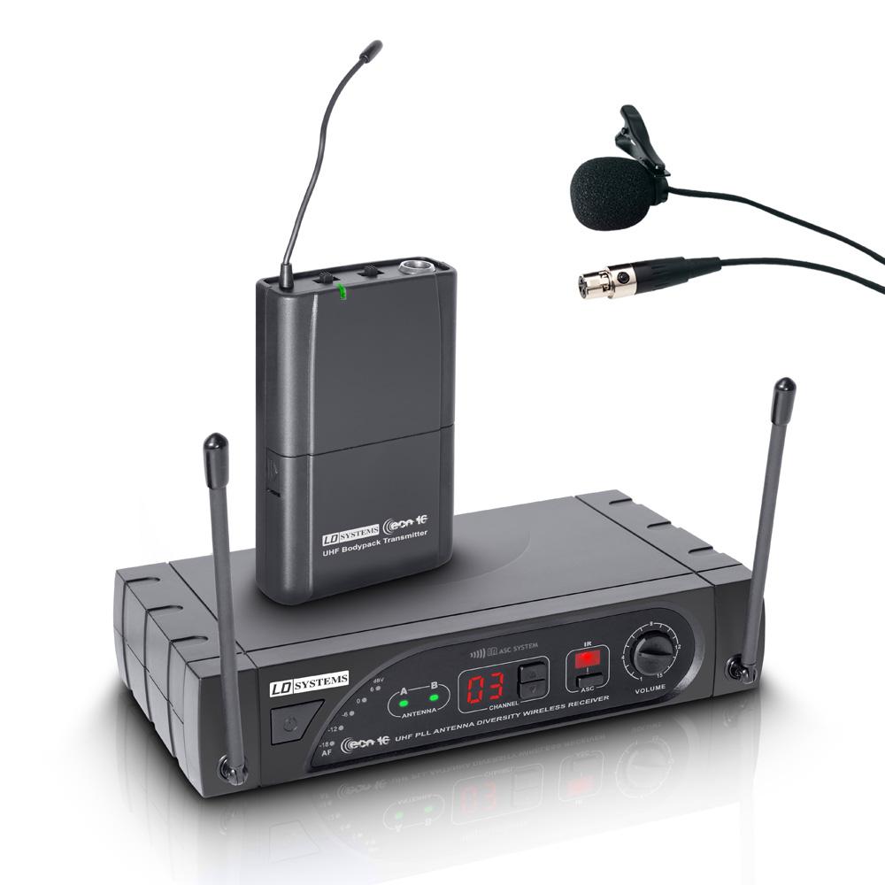 Image of   LD Systems ECO 16 Trådløs knaphul mikrofon