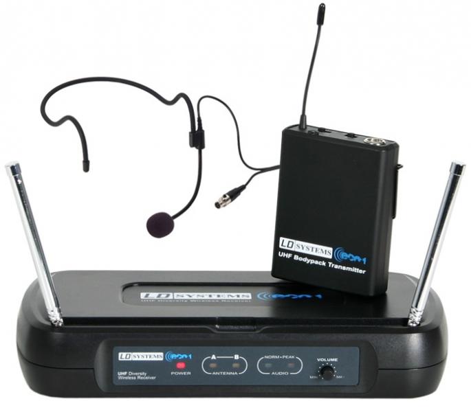 Image of   ECO 2 Headset Mikrofon (863 - 865 MHz) - LD Systems