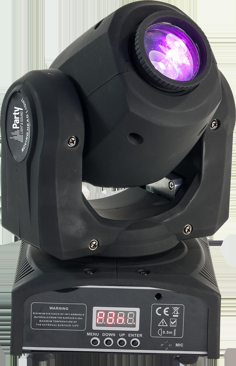 Image of   LED Moving Head 10 Watt
