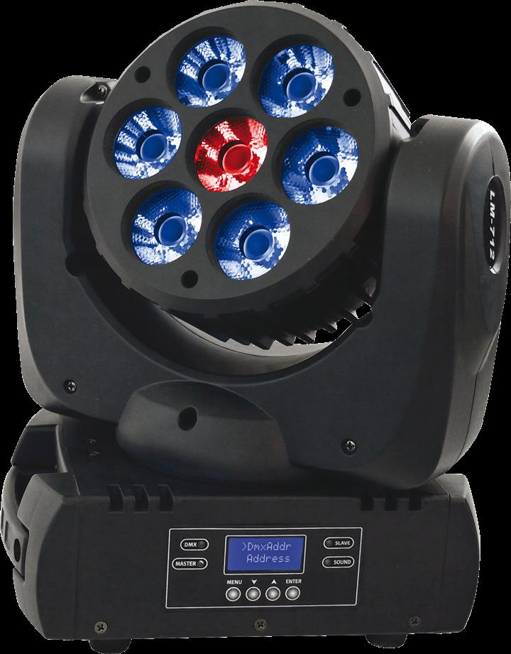 Image of   AFX LED Wash 712