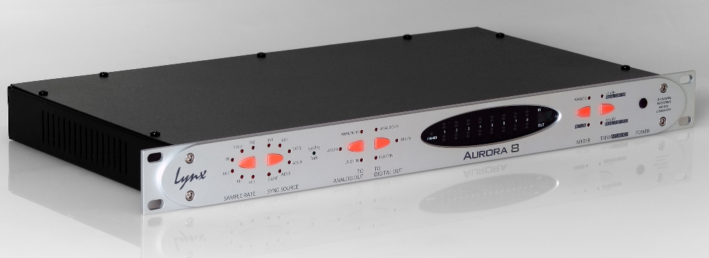Image of   Lynx 8 Channel A/D D/A Converter 24-bit / 192 kHz in / out