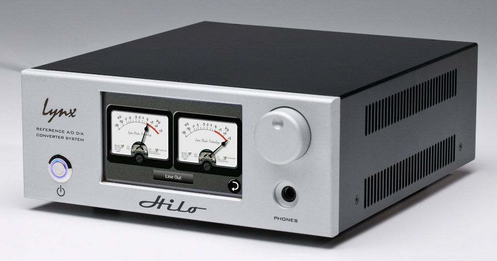 Image of   Lynx Hilo TB Reference A/D D/A Converter system, Sølv
