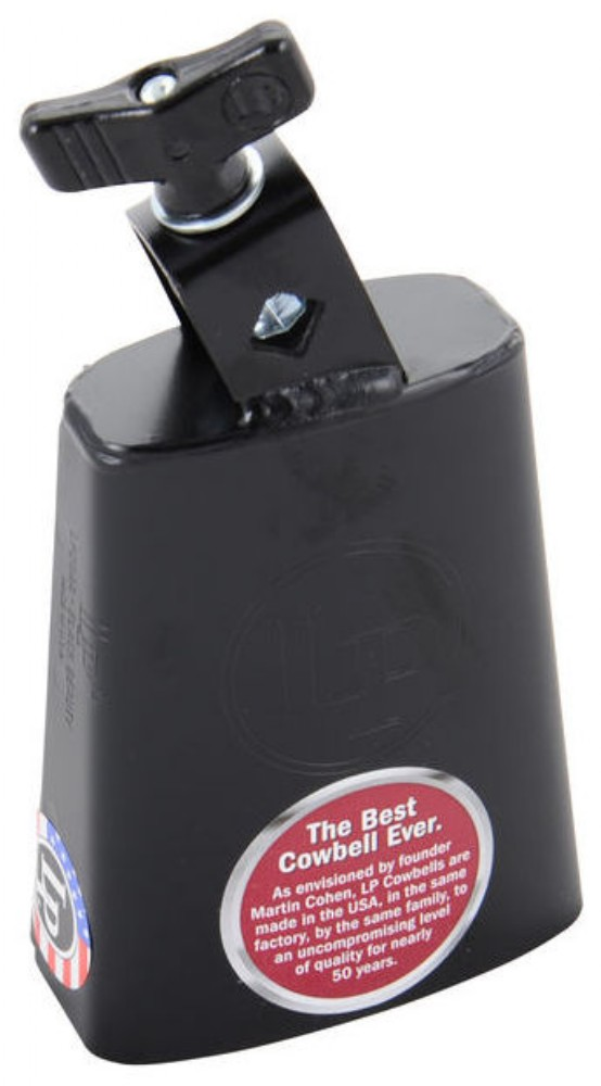 LP 204A Black Beauty Cowbell, Sort