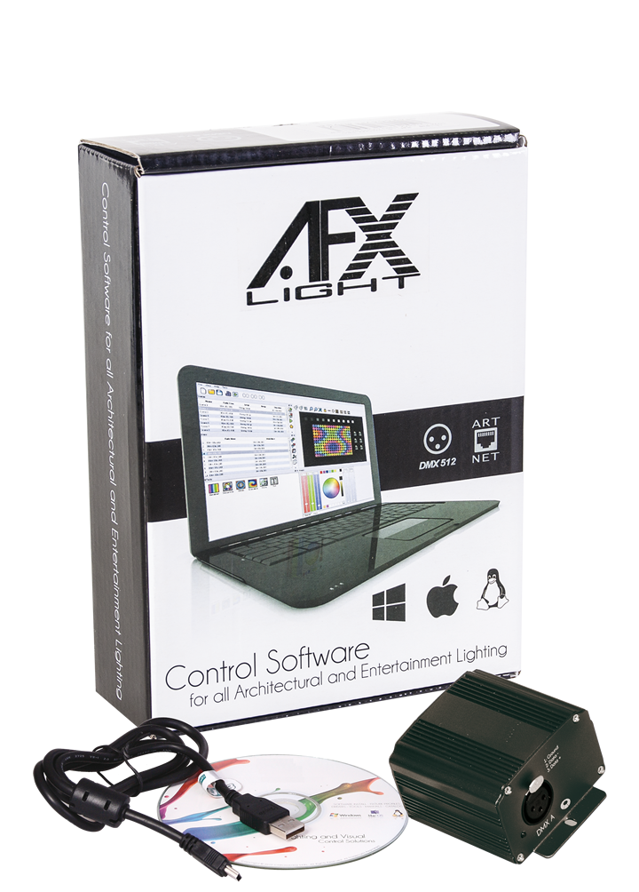 AFX 512 DMX Soft control