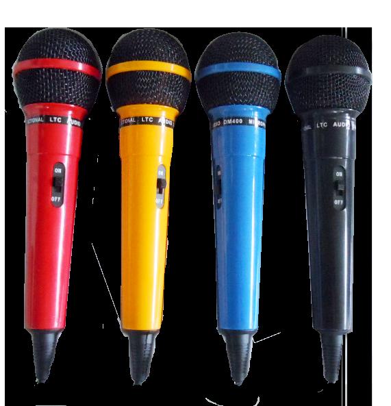 Image of   LTC mikrofoner, farvede, 4 stk.