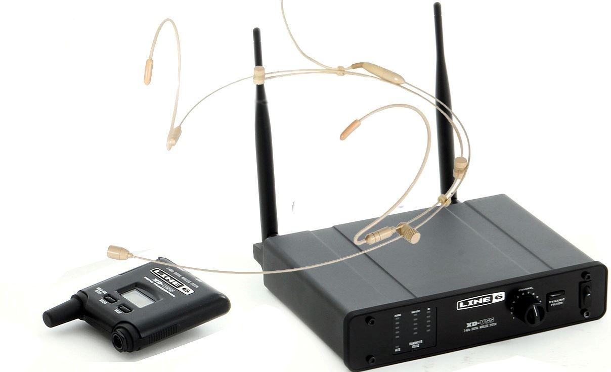 Line 6 XD-V55 Headset mikrofon, tan