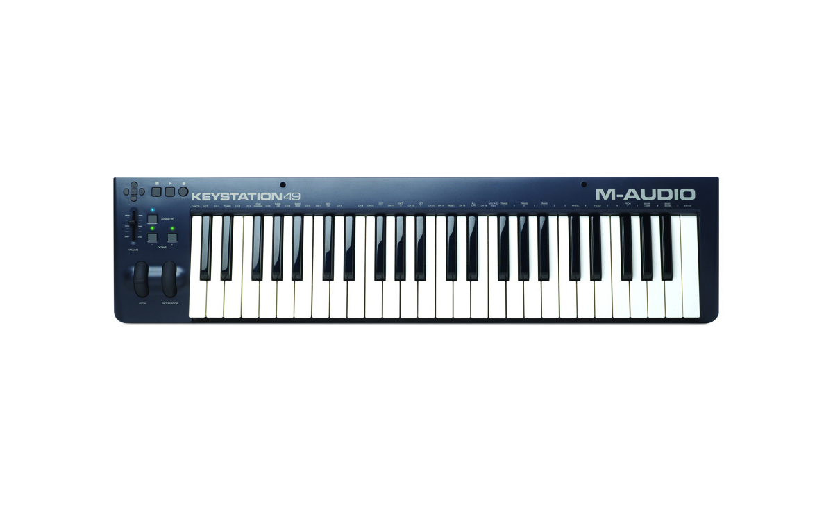 Image of   M-Audio Keystation 49 MK3 - USB/Midi-keyboard