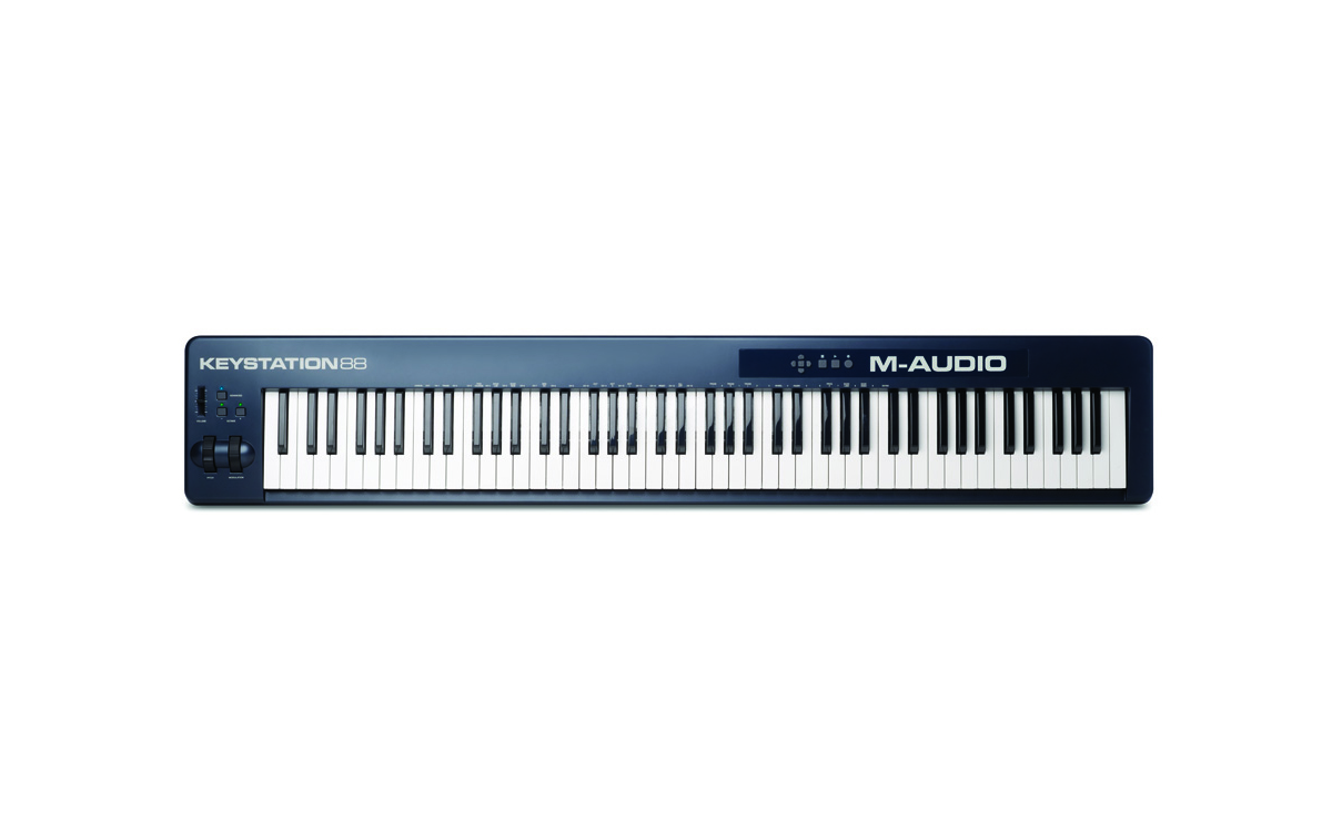Image of   M-Audio Keystation 88 II - USB/Midi-keyboard