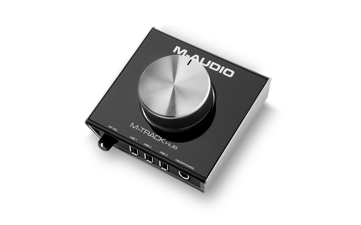 Image of   M-Audio M-TRACK HUB